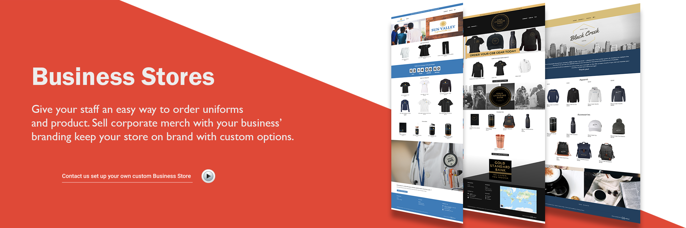 Create your own Custom Business Store
