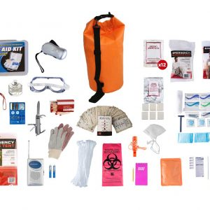 1 Person dry bag survival kit